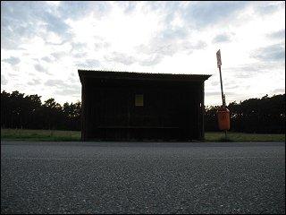 Bushaltestelle in Möhrendorf