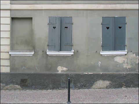 Hausfassade in Schwabach