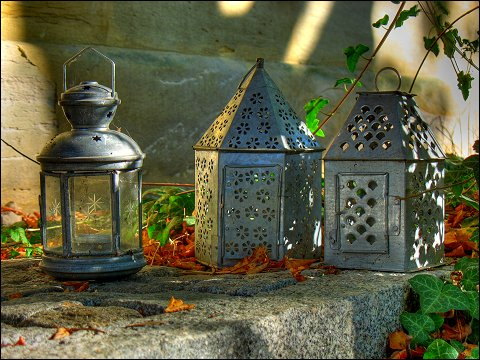 Beatrixens Blechlampen