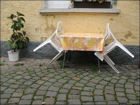Hofdekoration in Meisenheim (Glan)