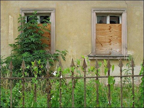 verlassenes Haus in Neumarkt (Oberpf)