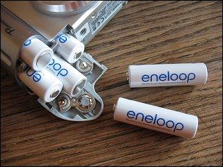 eneloop-Akkus in Mignon-Größe (AA)