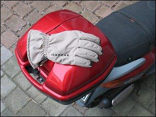 verlorener Handschuh