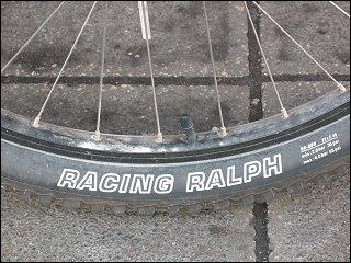 Fahrradreifen 'Racing Ralph'