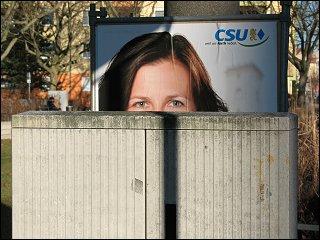 CSU-Plakat zur Kommunalwahl 2008