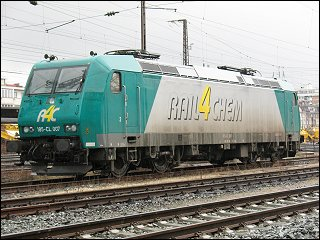 Lok 185-CL 007 der Firma Rail4Chem