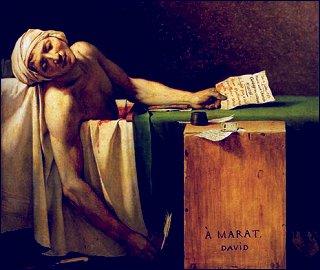 'Der Tod des Marat'