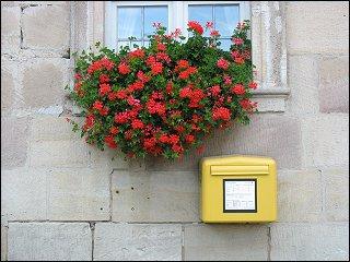 Briefkasten beim Schloß Weißenstein zu Pommersfelden