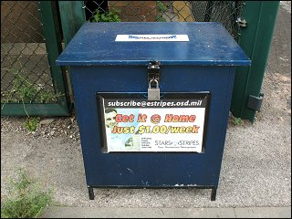 Ist diese Zeitungs-Kiste eine ofizielle Verkaufsstelle?