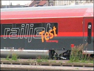 Railjet-Waggon