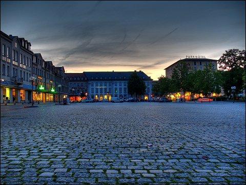 Fürther Freiheit mit verschwundenem Ludwigsbahnhof
