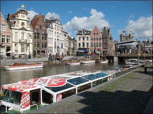 Postkartenbild von Gent