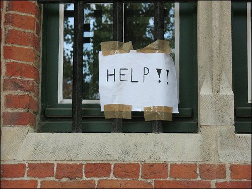 unerhörter Hilferuf in Brügge