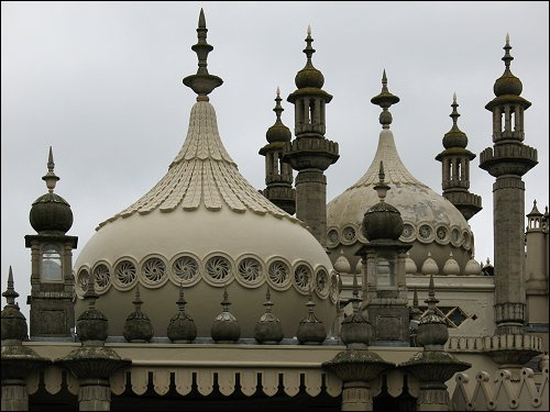Der Royal Pavilion zu Brighton