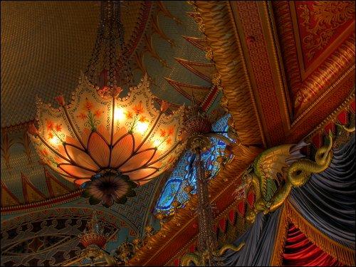 im Musik-Saal des Royal Pavilion