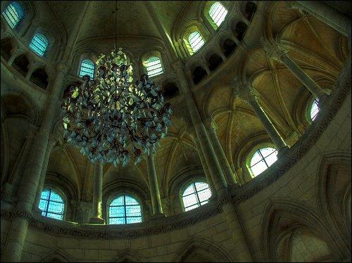 in der Kathedrale von Soissons