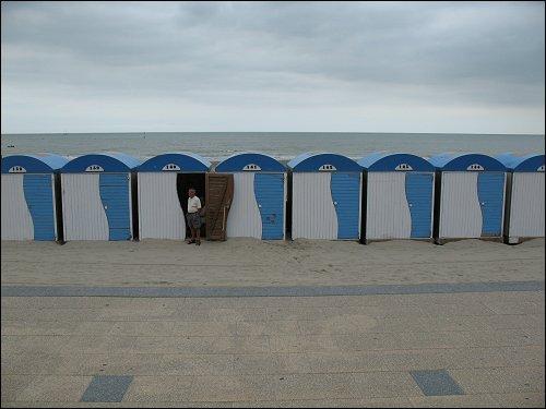 an der französischen Kanalküste
