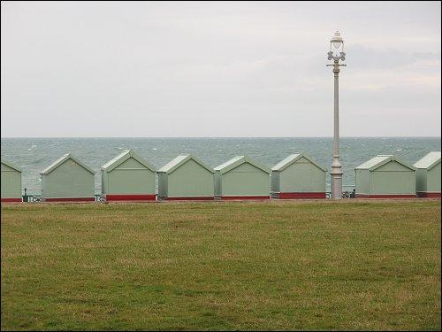 an der englischen Kanalküste