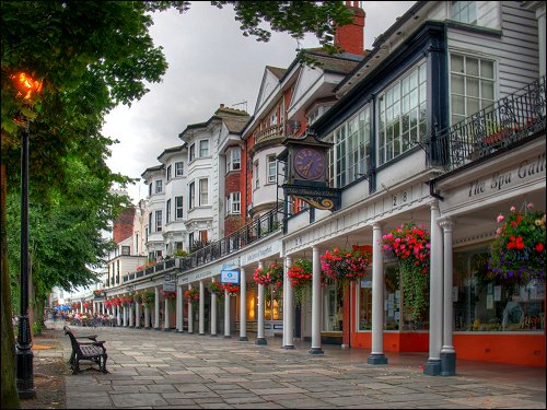 'The Pantiles' in Royal Tunbridge Wells
