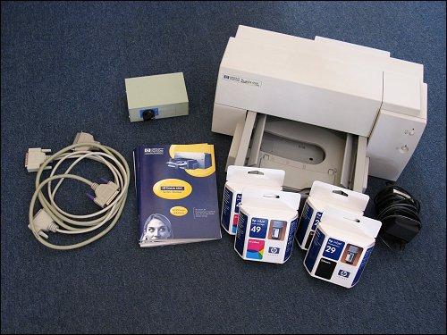 HP DeskJet 690C mit Zubehör