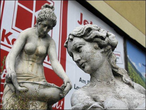 pseudoantiker Kitsch an der Fürther Straße zu Nürnberg