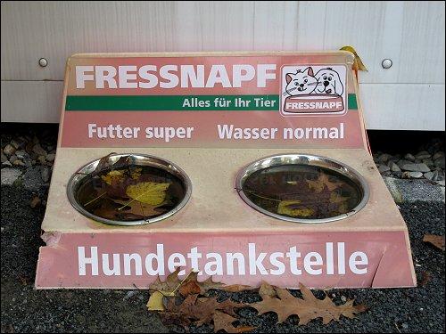schlechter Service für Vierbeiner in Schweinfurt
