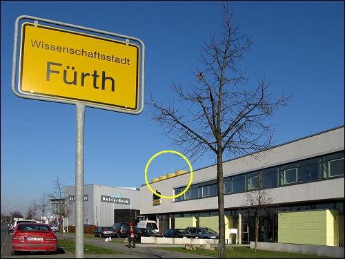 Die Nürnberger Niederlassung der Sto AG steht in Fürth