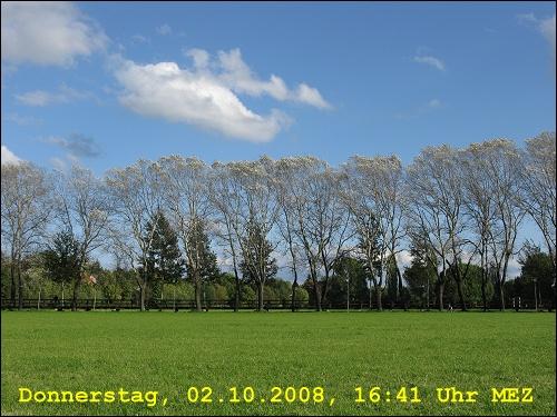 Ein sonniger Oktobertag im Fürther Pegnitz-Wiesengrund