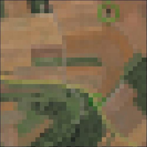 Ausschnitt der getrackten Fahrstrecke im Luftbild