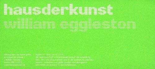 Eintrittskarte zur Ausstellung Gerhard Richter im Münchener Haus der Kunst