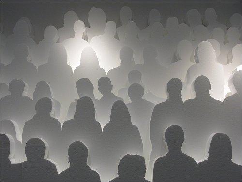 Lichtspielerei im Haus der Kunst zu München