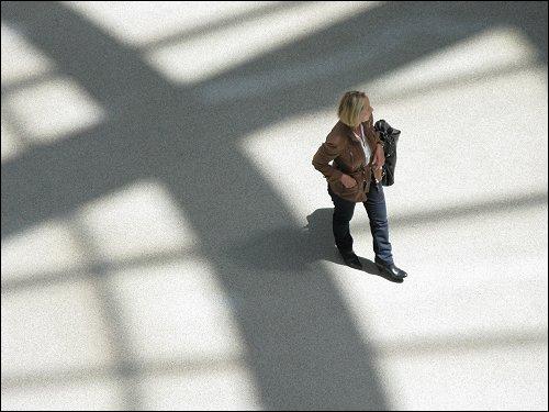 Besucher der Pinakothek der Moderne zu München
