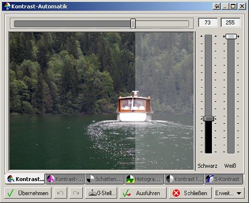 Foto vom Königssee in der Kontrastoptimierung von FixFoto