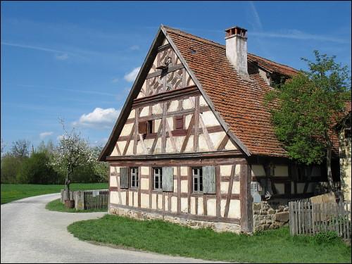 Fachwerkhaus im Freilandmuseum Bad Windsheim