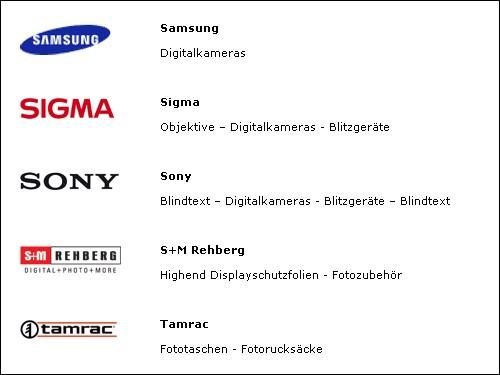 Screenhot von www.fotomax.de