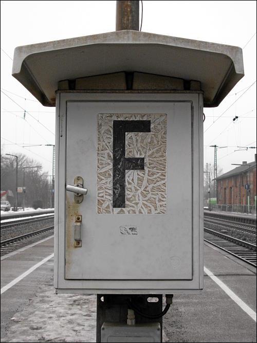 Fernsprechkasten im Bf Siegelsdorf