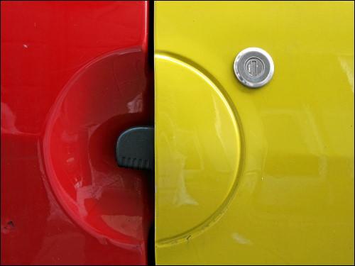 Türgriff und -schloß eines Renault Twingo