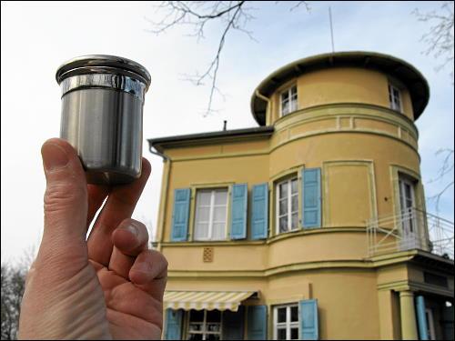 Café Villa Remeis hoch über der Bamberger Altstadt