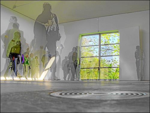 im ehemaligen Atelierhaus von Georg Baselitz