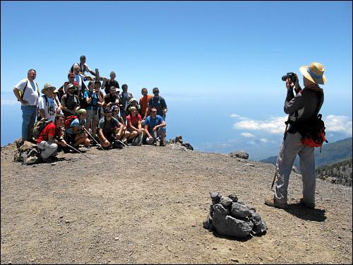 Das Gipfelglück will für die Nachwelt festgehalten sein