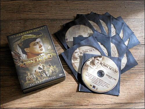 DVD-Gesamtausgabe von 'The Adventures of Robin Hood'