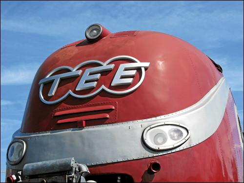 TEE-Triebkopf der Baureihe 602 im DB Museum Nürnberg