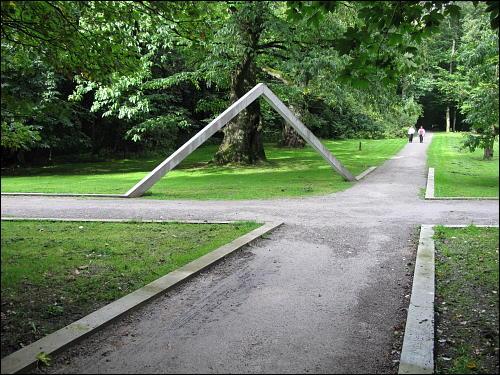 Skulptur in der Natur