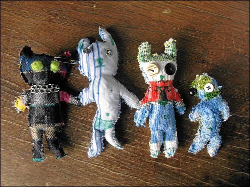 Stoff-Figuren von Jenni Beyer