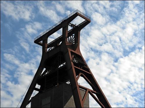 Förderturm der Zeche Zollverein