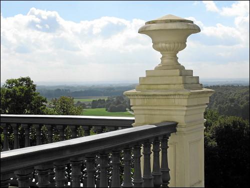 Blick von Schloß Cappenberg ins Umland