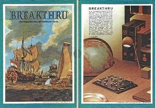 Breakthru-Schuber (deutsche Variante)
