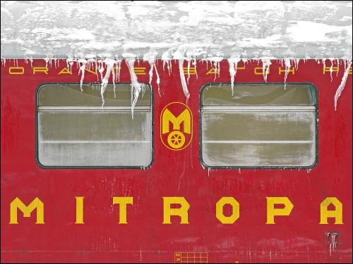 alter MITROPA-Speisewagen in Nürnberg Hbf