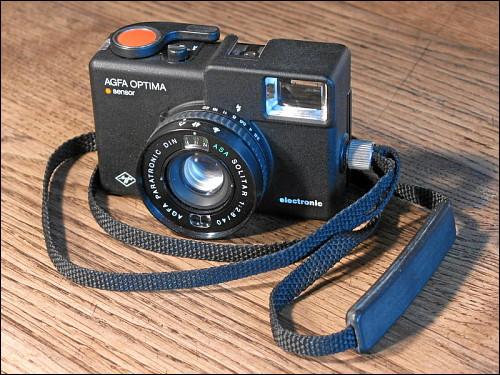 Kleinbild-Kamera Agfa Optima electronic