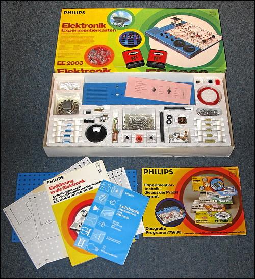Philips Elektronik Experimentierkasten EE 2003